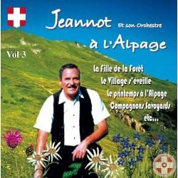 Jeannot CHRISTINAZ - Le yodleur Savoyard Vol.3