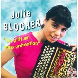 Julie BLOCHER - Un p'tit air sans prétention