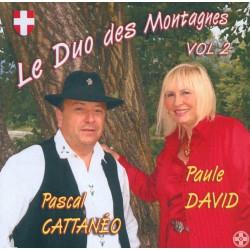 Duo des Montagnes Vol.2 - P. CATTANEO & P. DAVID