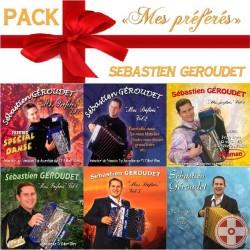 """Pack de Noël """"Mes préférés"""" Sebastien Geroudet vol.1 à 6"""