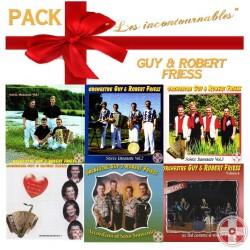 """Pack de Noël """"Guy et Robert FRIESS"""" Vol.1.2.3.4.5.6"""
