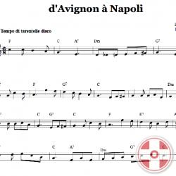 D'Avignon à Napoli