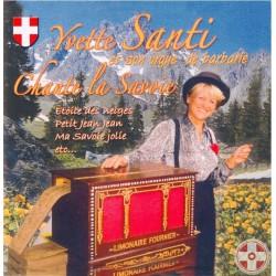 Yvette SANTI - Chante la Savoie