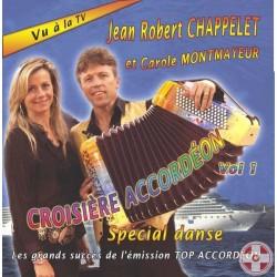 Jean-Robert CHAPPELET et Carole MONTMAYEUR - Croisière Accordéon Vol.1