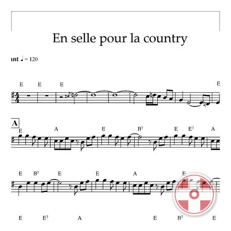 En selle pour la country