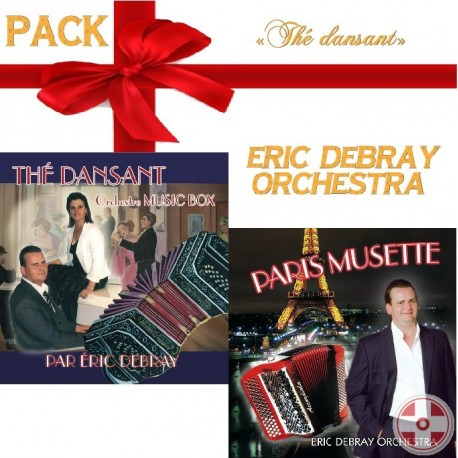 """Pack de Noël """"Thé Dansant"""""""