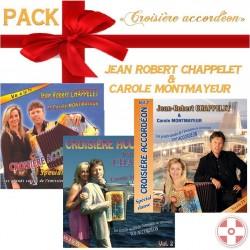 """Pack de Noël """"Croisière Accordéon Vol. 1.2.3"""""""