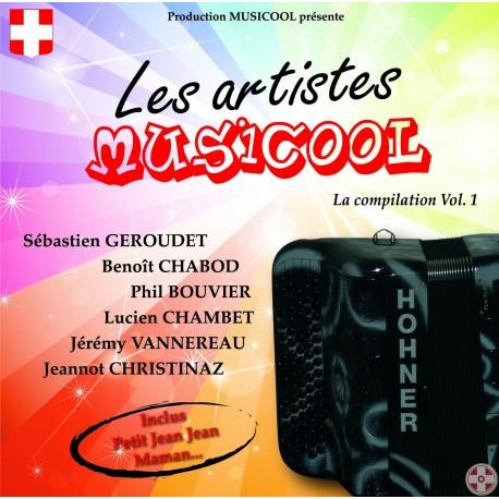 Les Artistes Musicool - Compilation Vol.1